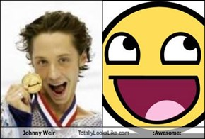 Johnny Weir Totally Looks Like :Awesome:
