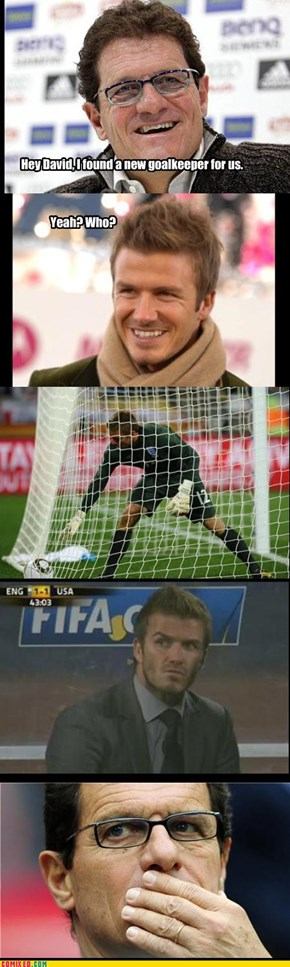 New goalkeeper