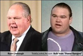 "Rush Limbaugh Totally Looks Like Bulk from ""Power Rangers"""