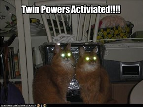 Twin Powers Activiated!!!!