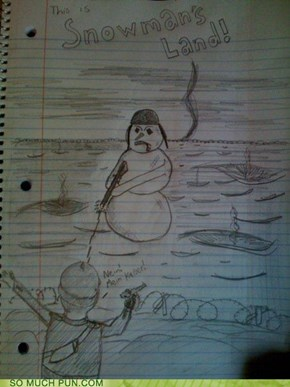 This Is Snowman's Land!