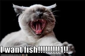 I want fish!!!!!!!!!1!!