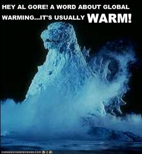 Godzilla Speaks Out On Global Warming