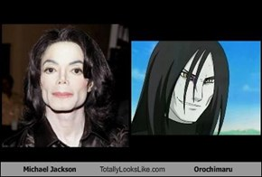 Michael Jackson Totally Looks Like Orochimaru