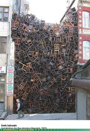 Suddenly Chairs! Thousands of Them!