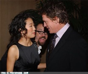 Paul Giamatti Photobomb? Seriously?