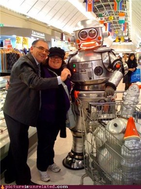 Robo Shopping Buddy