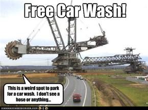 Free Car Wash!
