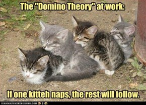 "The ""Domino Theory"" at work"