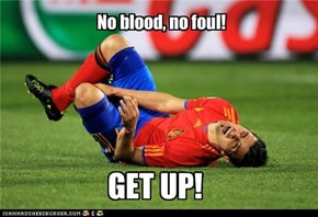 No blood, no foul!