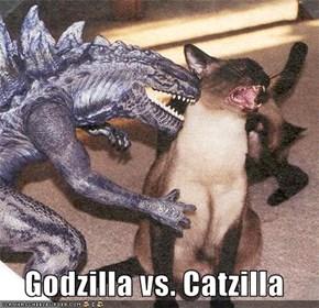 Godzilla vs. Catzilla