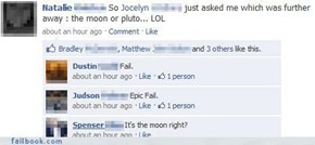 It's Clearly The Moon