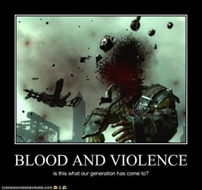 BLOOD AND VIOLENCE