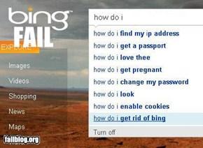 Bing Fail