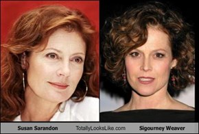 Susan Sarandon Totally Looks Like Sigourney Weaver