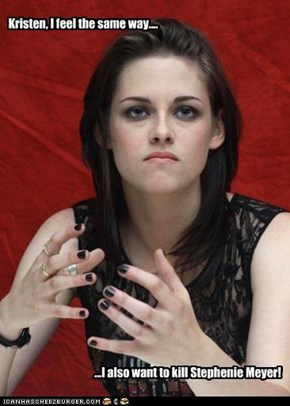 Kristen, I feel the same way....