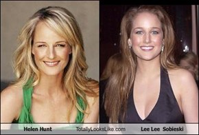 Helen Hunt Totally Looks Like Lee Lee  Sobieski