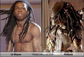 Lil Wayne Totally Looks Like Predator