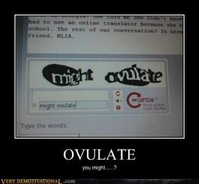 OVULATE