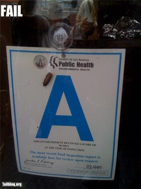 Los Angeles Health Department Fail