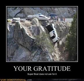 YOUR GRATITUDE