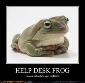 HELP DESK FROG