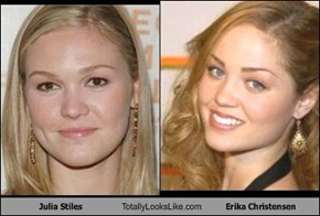 Julia Stiles Totally Looks Like Erika Christensen