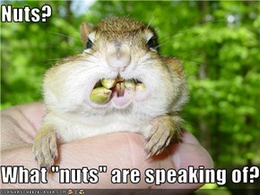 "Nuts?  What ""nuts"" are speaking of?"
