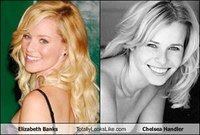 Elizabeth Banks Totally Looks Like Chelsea Handler