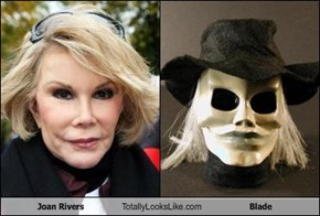 Joan Rivers Totally Looks Like Blade