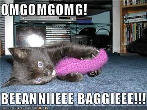 OMGOMGOMG!  BEEANNIIEEE BAGGIEEE!!!