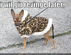 i wil git revinge later.
