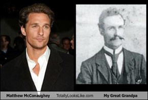 Matthew McConaughey Totally Looks Like My Great Grandpa