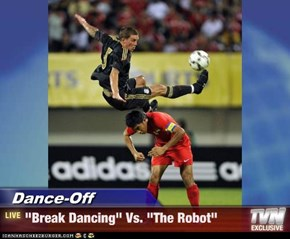 "Dance-Off - ""Break Dancing"" Vs. ""The Robot"""