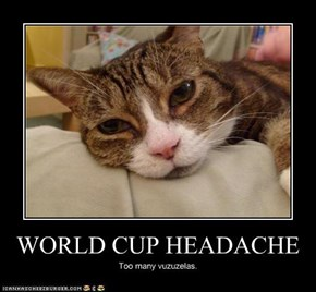 WORLD CUP HEADACHE