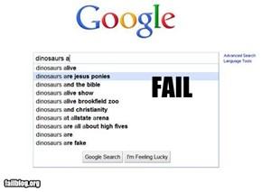 Autocomplete Me: Dinosaur Fail