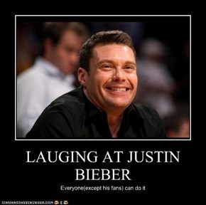 LAUGING AT JUSTIN BIEBER