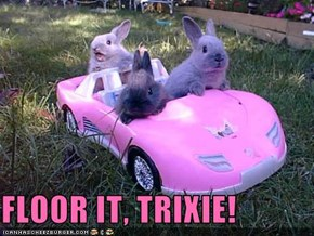 FLOOR IT, TRIXIE!
