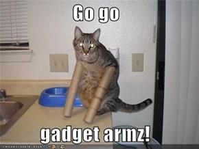 Go go  gadget armz!