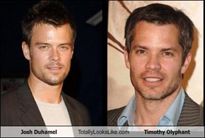 Josh Duhamel Totally Looks Like Timothy Olyphant