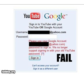 Youtube Fail