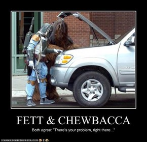 FETT & CHEWBACCA