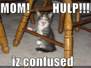 MOM!         HULP!!!        iz confused