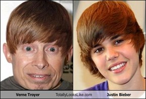 Verne Troyer Totally Looks Like Justin Bieber