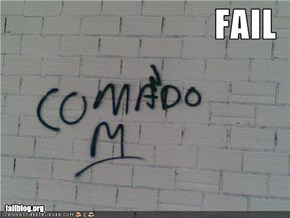 Paint on the wall FAIL