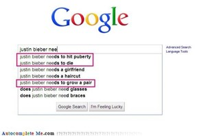 Justin Bieber annoys everyone...