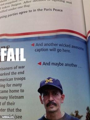 History Textbook Fail