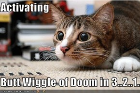 Activating  Butt Wiggle of Doom in 3..2..1...