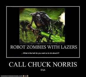 CALL CHUCK NORRIS