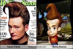 Conan O'Brian Totally Looks Like Jimmy Neutron